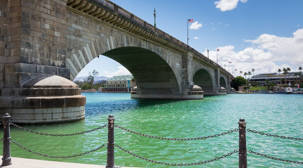 London Bridge at Lake Havasu