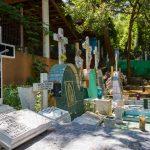 Sayulita grave yard.